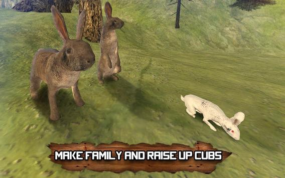 Forest Rabbit Simulator 3D apk screenshot
