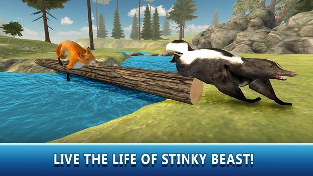 Skunk Simulator 3D poster