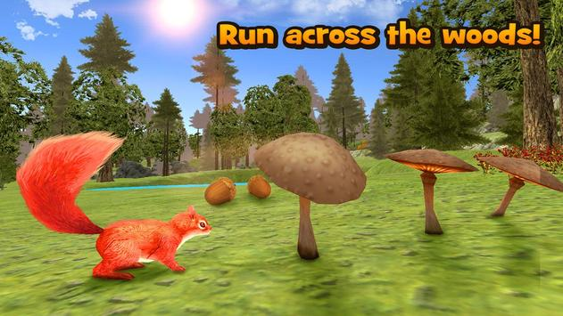 Forest Squirrel Simulator 3D poster