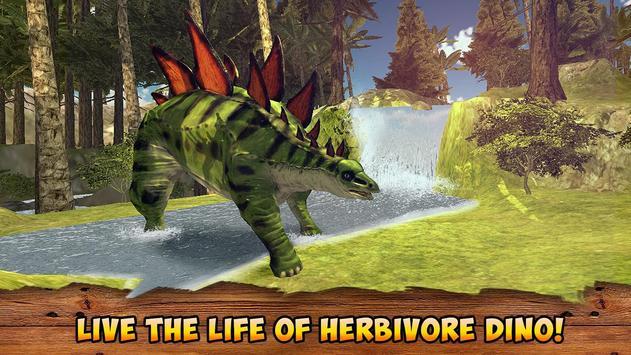 Jurassic Stegosaurus Simulator poster