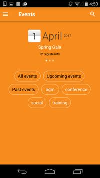 Wild Apricot for admins apk screenshot