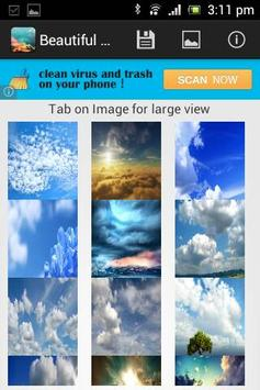 Beautiful Sky Wallpaper poster