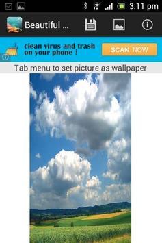 Beautiful Sky Wallpaper screenshot 1