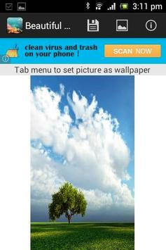 Beautiful Sky Wallpaper screenshot 2