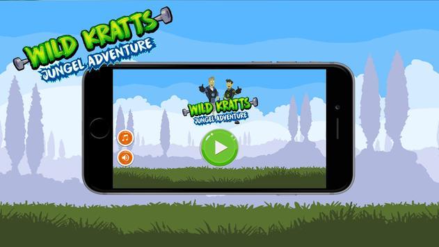 Super krats kid wild world adventure poster