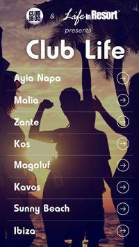 Club Life 18-30 App screenshot 1