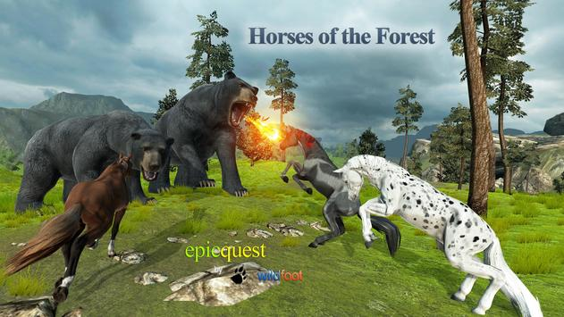 Horses of the Forest apk screenshot