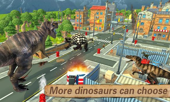 Dino Simulator 3D poster
