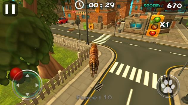 Rampage Tiger Simulator screenshot 2