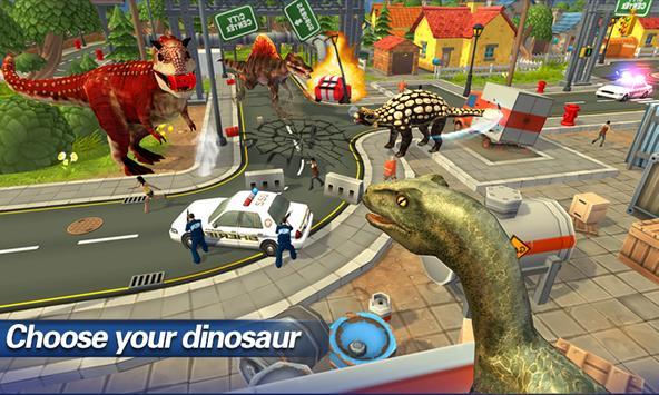 Jurassic Rampage Simulator apk screenshot