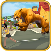 Sabretooth Rampage Simulator icon