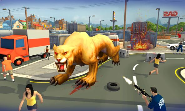 Sabretooth Rampage Simulator apk screenshot