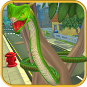 Furious Snake 3D icon