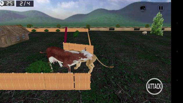 Wild Lion Simulator 3D screenshot 3
