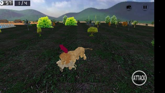 Wild Lion Simulator 3D screenshot 14