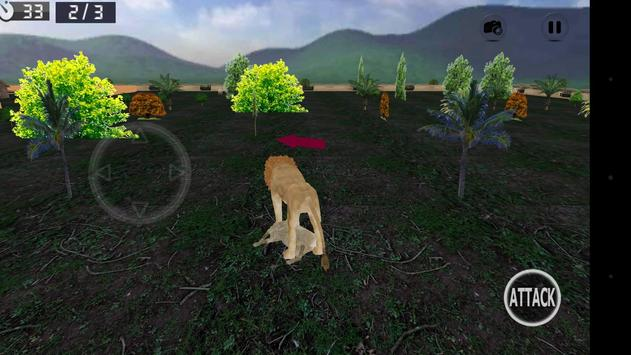 Wild Lion Simulator 3D screenshot 23