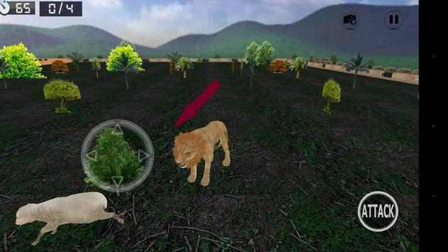 Wild Lion Simulator 3D screenshot 2