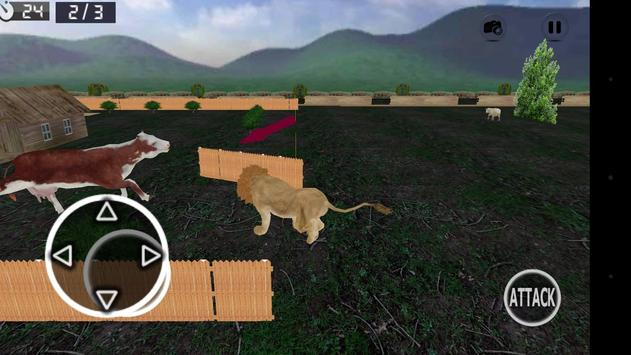 Wild Lion Simulator 3D screenshot 6