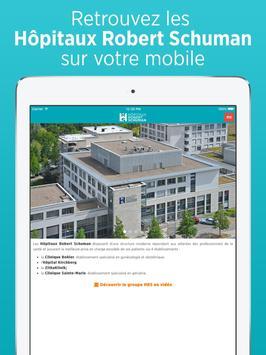 Hôpitaux Robert Schuman screenshot 5