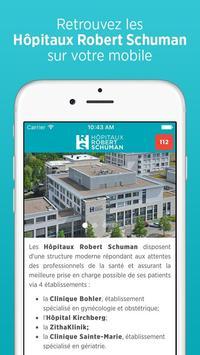 Hôpitaux Robert Schuman poster