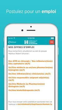 Hôpitaux Robert Schuman screenshot 14