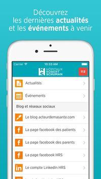Hôpitaux Robert Schuman apk screenshot