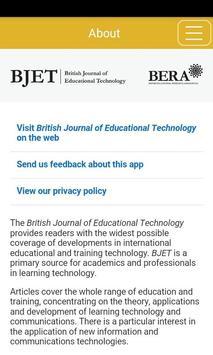 British Jrnl of Edu Technology poster