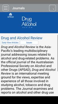 Drug and Alcohol Review (mobile only) screenshot 1