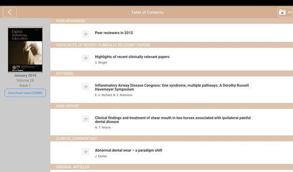 Equine Veterinary Education screenshot 9
