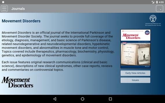 Movement Disorders screenshot 11