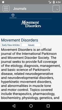 Movement Disorders screenshot 1