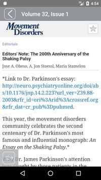 Movement Disorders screenshot 4