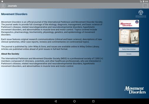 Movement Disorders screenshot 6