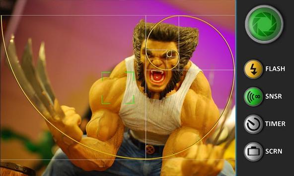 Sensor Camera apk screenshot
