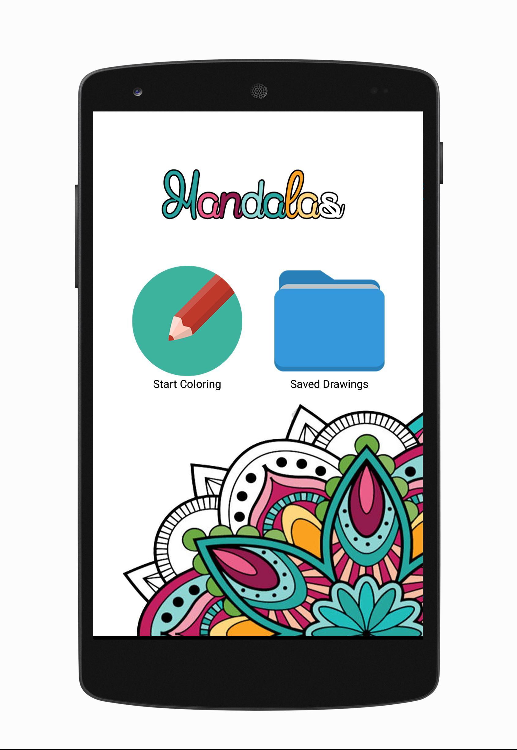 Mandala A Colorier Adulte Gratuit Pour Android Telechargez L Apk