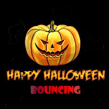 Halloween Fun Games Bouncing poster