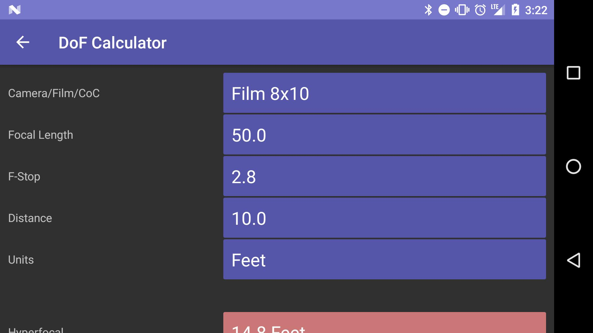 Light Meter - Free for Android - APK Download
