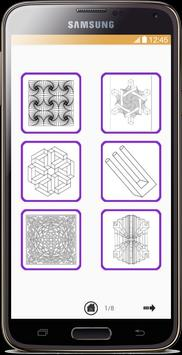 Optical Illusion Coloring Book screenshot 1