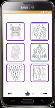 Optical Illusion Coloring Book screenshot 2