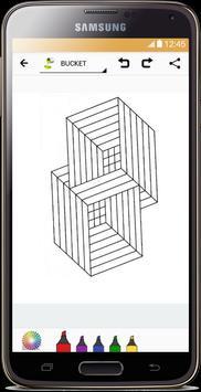 Optical Illusion Coloring Book screenshot 3