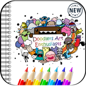 Doodle Art Coloring Book icon