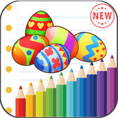 Easter Eggs Coloring Book icon