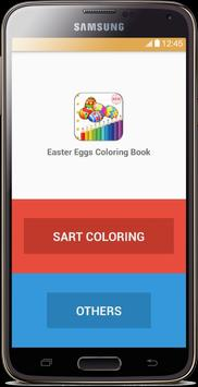 Easter Eggs Coloring Book poster
