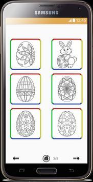 Easter Eggs Coloring Book screenshot 2