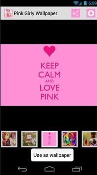 Pink Girly Wallpaper screenshot 1