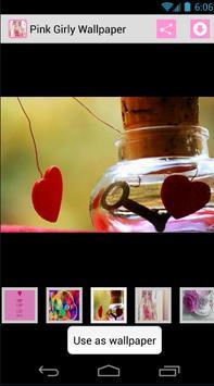 Pink Girly Wallpaper screenshot 2