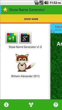 Show Names apk screenshot