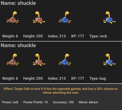 Pokédex screenshot 4