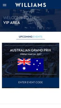 Williams VIP poster