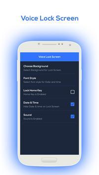 Voice Lock Screen 2018 screenshot 2